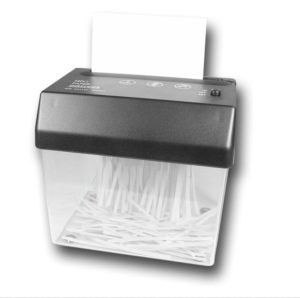 Paper Shredder for Destroying Files