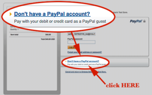 safe credit card PayPal transaction