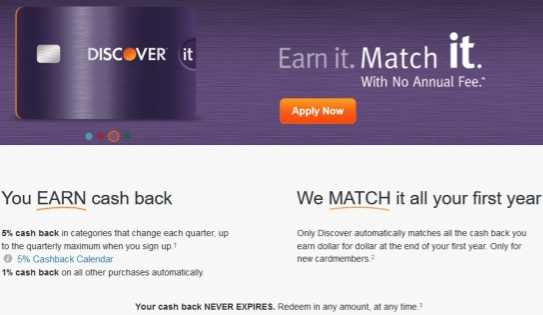 Discoverit Cashback