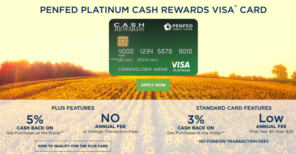 PenFed Cashback Rewards Credit Card