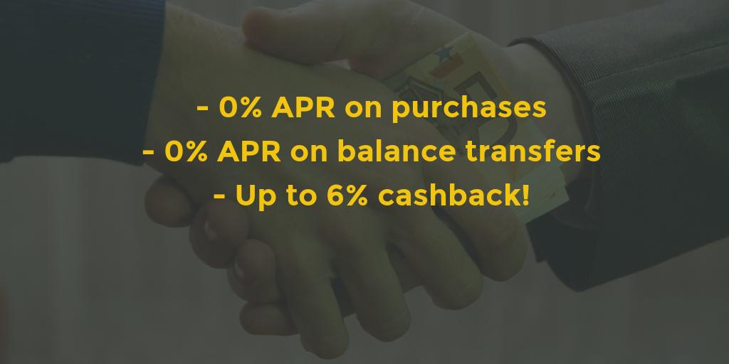 zero apr cashback reward credit cards ranked