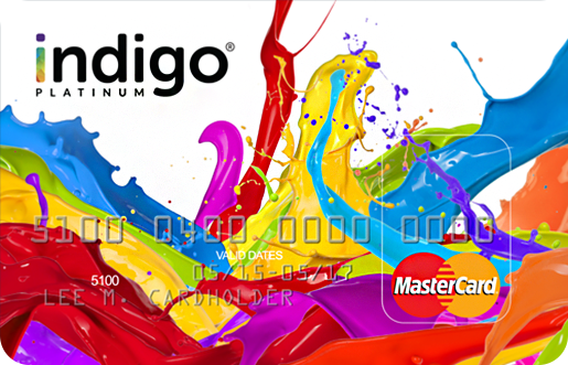 The Indigo Platinum MasterCard No-Deposit Credit Card