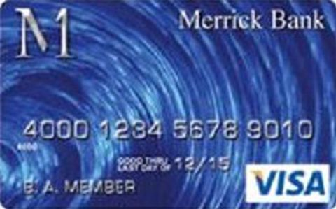 Merrick Bank Secured VISA Credit Card