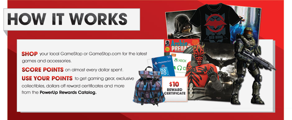 The GameStop PowerUp Rewards Card