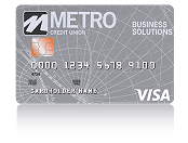 Metro VISA Secured Credit Card for Small Businesses