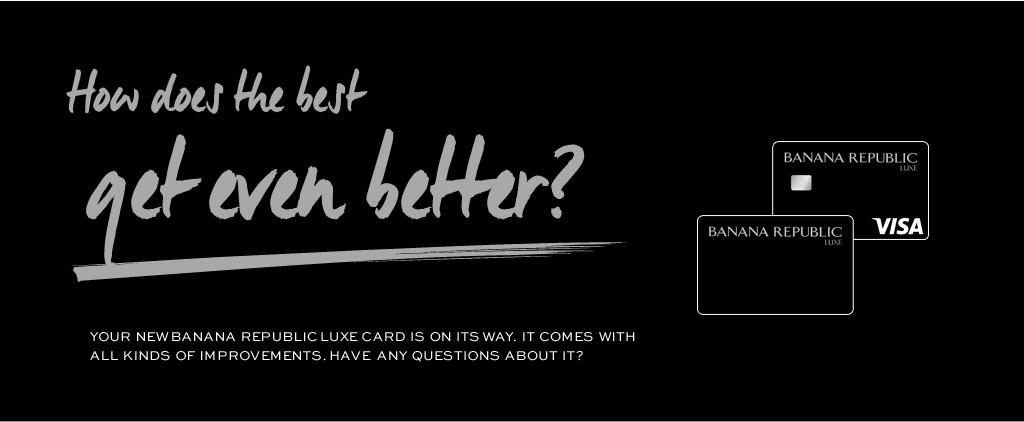 Banana Republic Store Rewards Credit Card