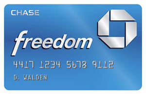 Chase Freedom Cashback Rewards Credit Card