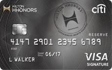 Hilton HHonors Reserve Credit Card from Citi