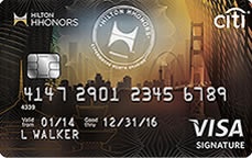 Hilton HHonors VISA SIgnature Card from Citi