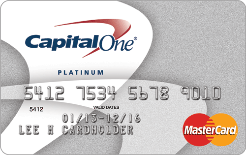 Best credit cards for bad credit in 2018 elite personal finance platinum unsecured mastercard credit card from capital one reheart Choice Image
