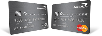 Capital One Quicksilver Compared to QuicksilverOne credit card