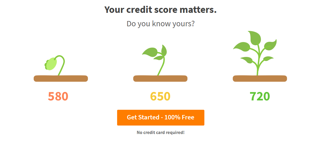 A Look Into the Dashboard for Credit Sesame